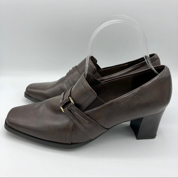 Life Stride Shoes - Life Stride   Closed Toe Slip On Kitten Heels